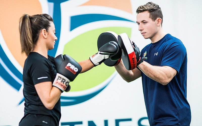 Boxing Pad Work - Personal Training