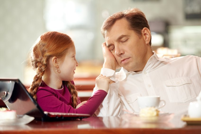 Tired Parent