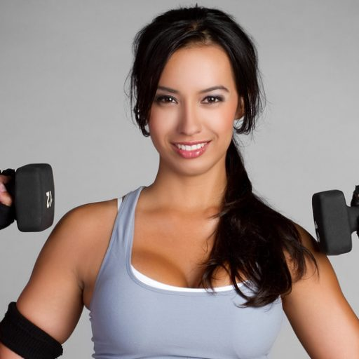 Weight Lifting Woman