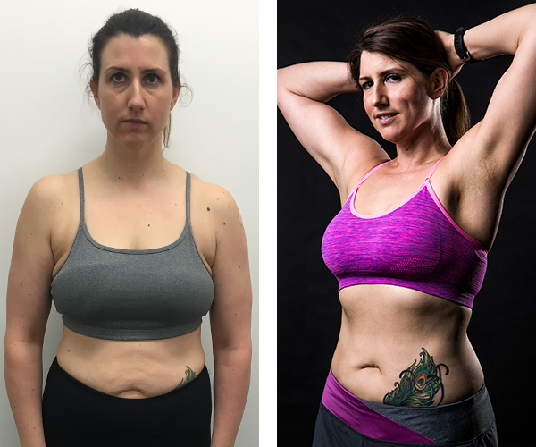 Kirsty - Before & After Transformation