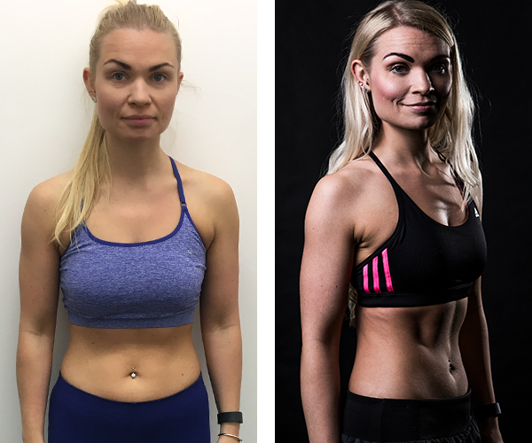 Lauren - Before & After Transformation