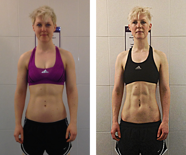 Georgina - Before & After Transformation