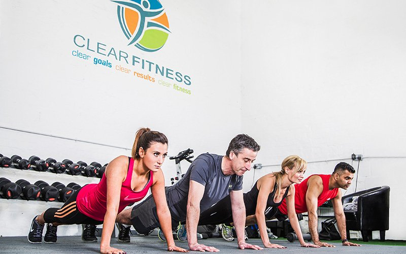 Press-Ups - Small Group Personal Training